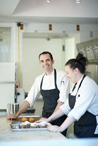 "Dominique Ansel dans sa ""Bakery"""