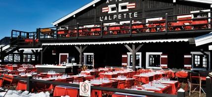 Restaurant d'altitude branché, l'Alpette
