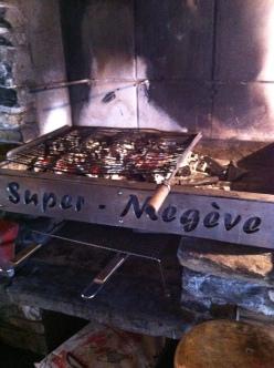 Restaurant d'altitude, le Super Megève