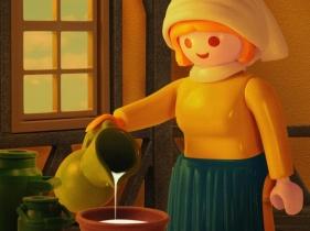 """""""La Laitière"""" de Vermeer Par Richard Unglik"""
