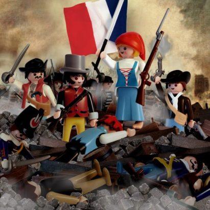 """""""La Liberté guidant le peuple"""" d'Eugène Delacroix Pars Richard Unglik"""
