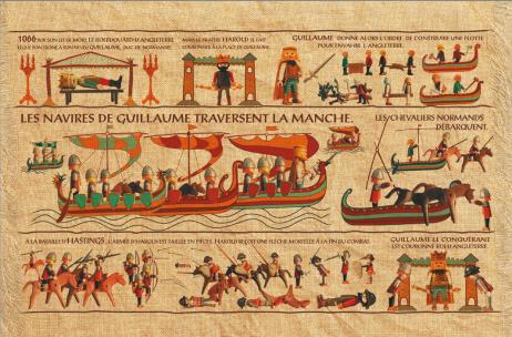 La tapisserie de Bayeux Par Richard Unglik