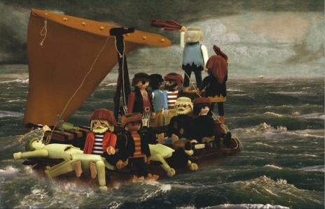 """""""Le Radeau de la Méduse"""" de Théodore Géricault Par Richard Unglik"""