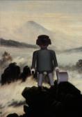 Richard Unglik_Le voyageur contremplant une mer de brume de Caspar David Friedrich