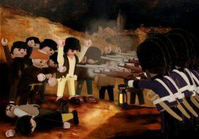 """Les fusillades du 3 mai"" de Francisco de Goya Par Richard Unglik"