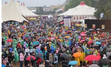 En 2012, sous la pluie... Probablement cette année encore !