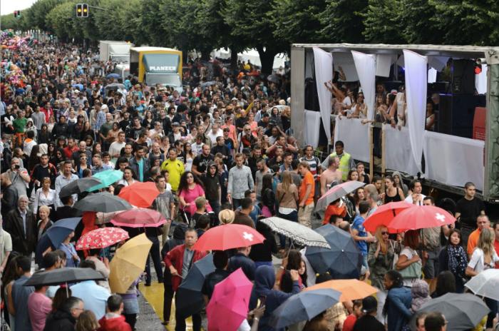 Lake parade Geneve Juillet 2014