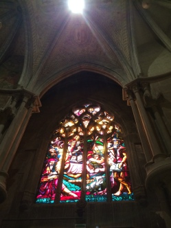 Cathedrale Lausanne 2 vitrail