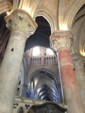 Cathedrale Lausanne colonnes