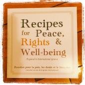 Recettes anglais-français pour la Paix, les droits et le bien-être