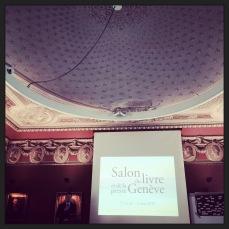 Conférence de presse sur le Salon du livre et de la presse 2015 à la Société des Arts de Genève