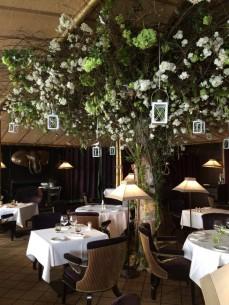 La salle du restaurant Le Loti