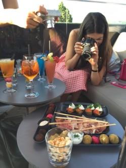 Les blogueuses foodistas-paparazzi !