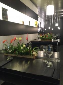 Les tables réservées pour le Seafood Bar du Globus
