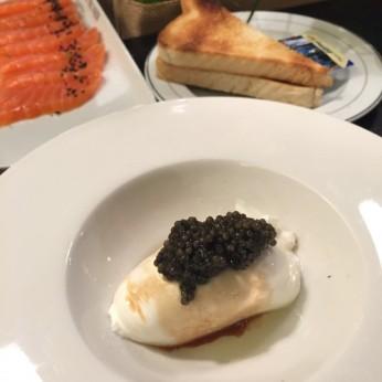 Burratina au caviar (10g), 15 CHF