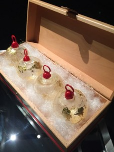 Christmas Surprise, de l'équipe de pâtisserie de l'Hôtel d'Angleterre Geneva