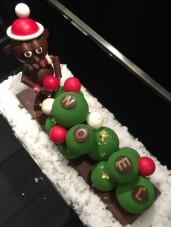 Boules de Noël, de Pascal Fourdrinier, Chef pâtissier de l'Hôtel de la Paix Genève