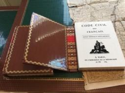 Le Code Civil, tout en briques