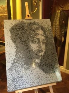 Portrait de l'impératrice Joséphine, 109000 pièces et 12 heures de travail plus tard !